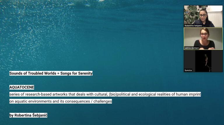 Screenshot s online prezentacije Adriatic Garden na EKO WEEK-u